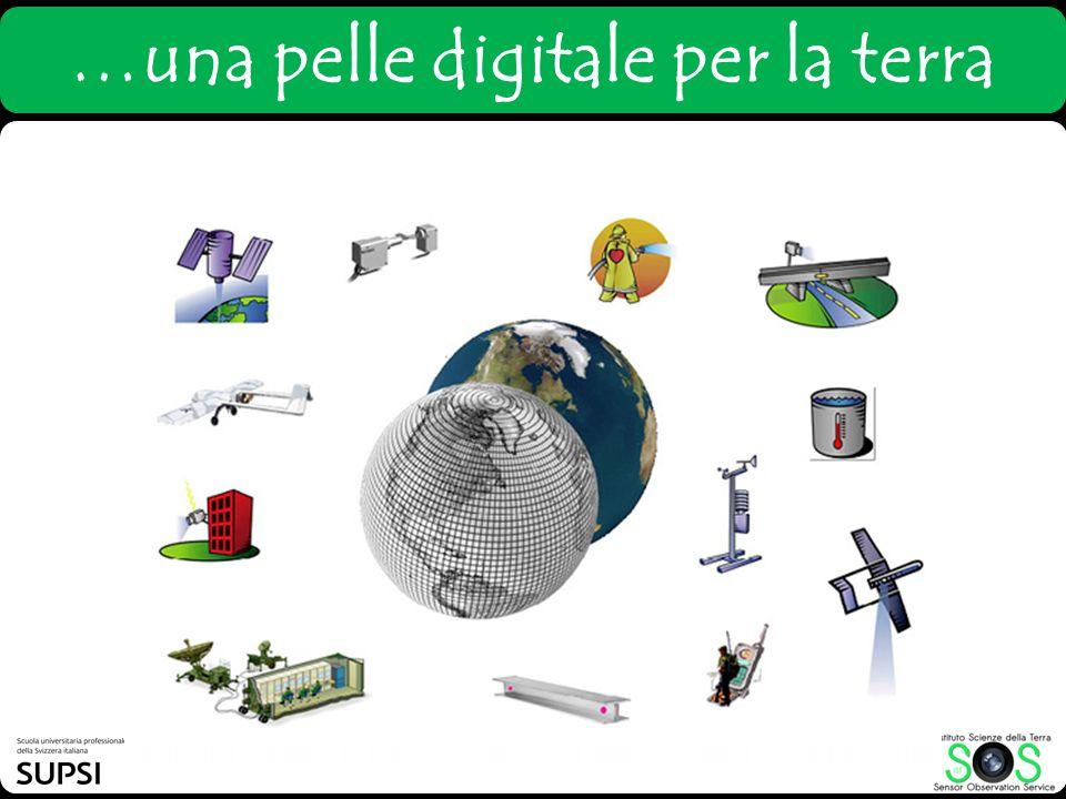 …una pelle digitale per la terra
