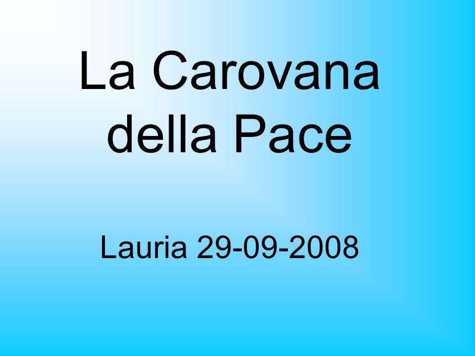 La Carovana della Pace Lauria 29-09-2008