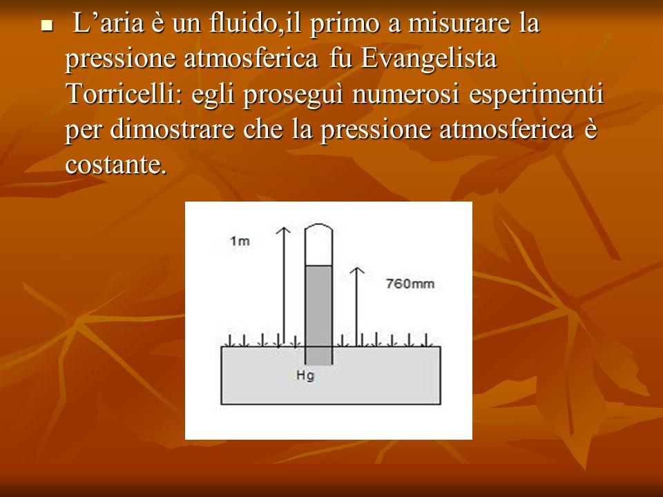 riempie di mercurio un tubo di vetro della lunghezza di circa un metro, con una delle estremità chiusa.