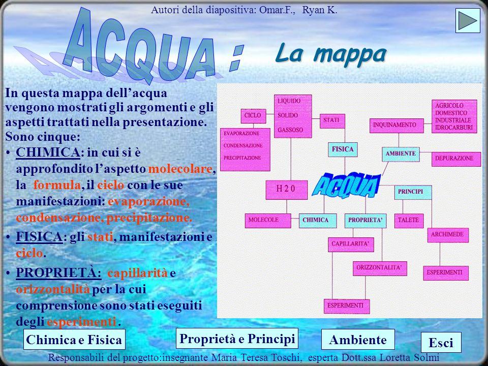 La depurazione Autori della diapositiva: Leonardo L Matteo B Responsabili del progetto:insegnante Maria Teresa Toschi, esperta Dott.ssa Loretta Solmi.
