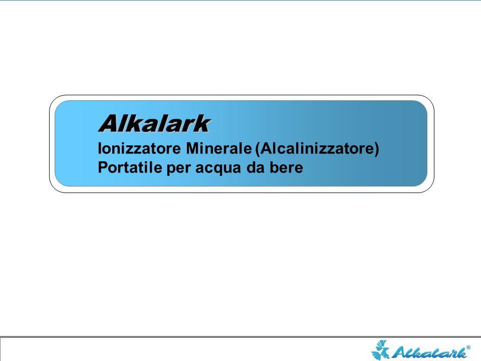 Alkalark Ionizzatore Minerale (Alcalinizzatore) Portatile per acqua da bere