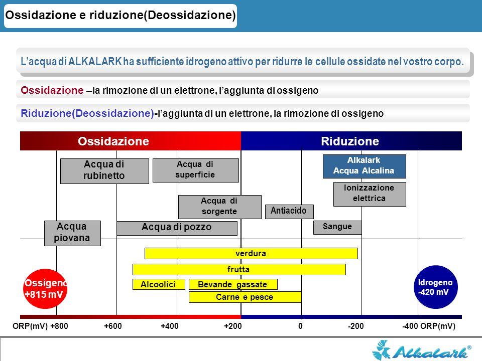 Ossidazione e riduzione(Deossidazione) Ossidazione – la rimozione di un elettrone, laggiunta di ossigeno Riduzione(Deossidazione)- laggiunta di un ele