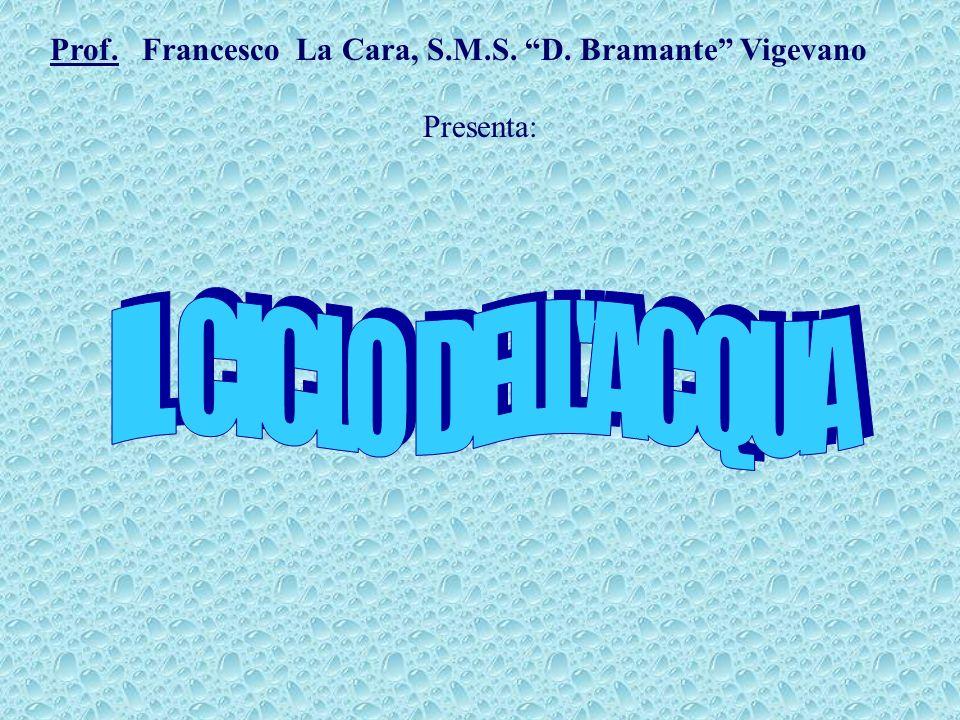 Prof. Francesco La Cara, S.M.S. D. Bramante Vigevano Presenta: