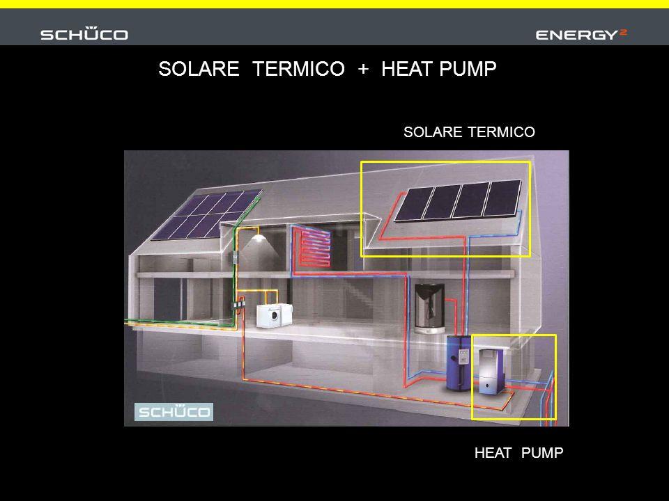 HEAT PUMP SOLARE TERMICO + HEAT PUMP SOLARE TERMICO