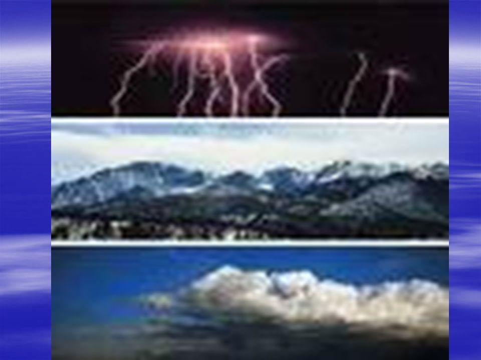 Il clima… Il clima come abbiamo detto prima è influenzato da diversi fattori I fattori che influenzano il clima sono: 1 - la latitudine 2 - la longitudine