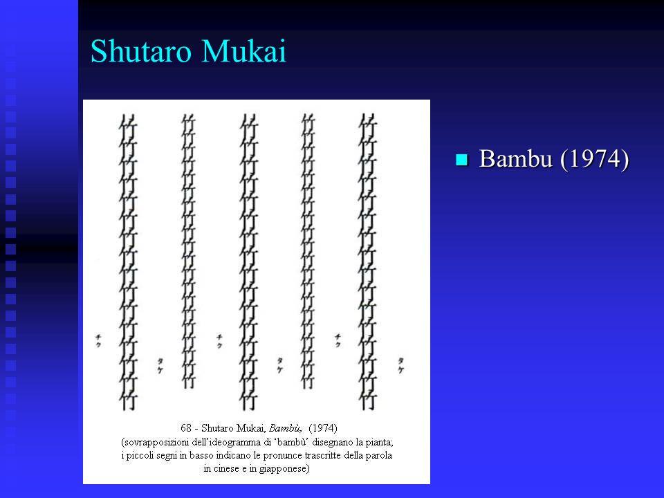 Shutaro Mukai Bambu (1974) Bambu (1974)
