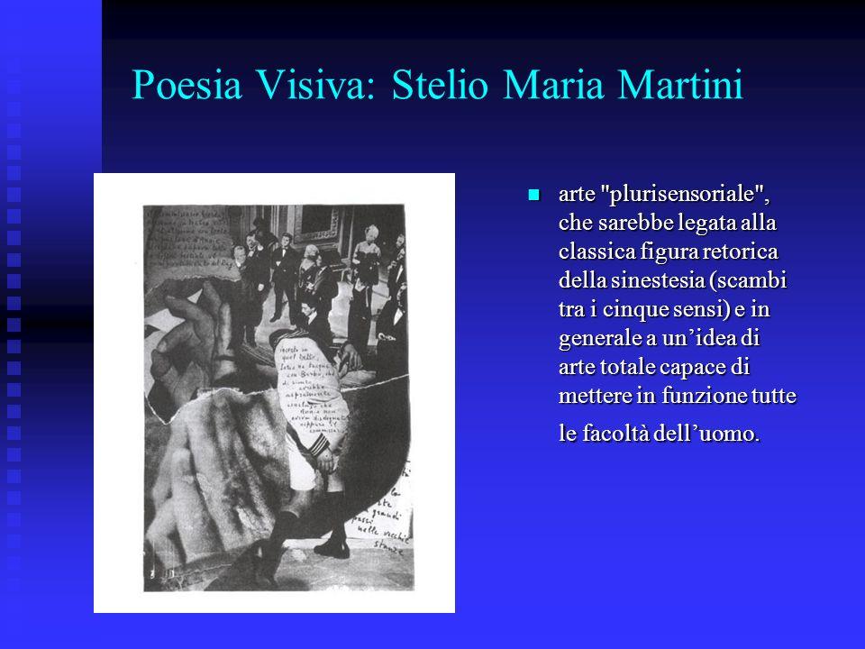 Poesia Visiva: Stelio Maria Martini arte