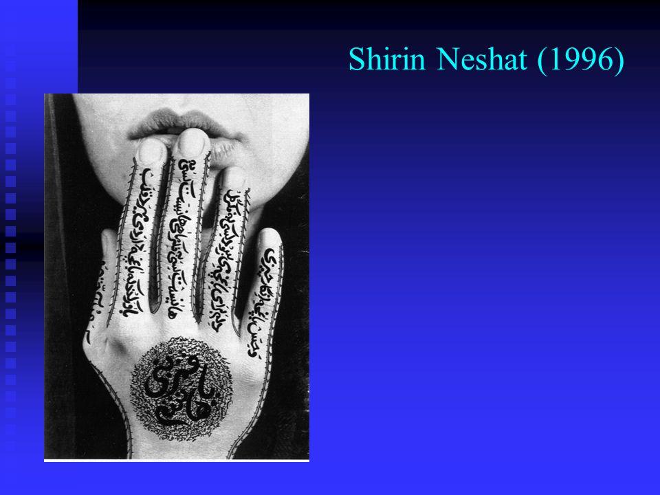 Shirin Neshat (1996)