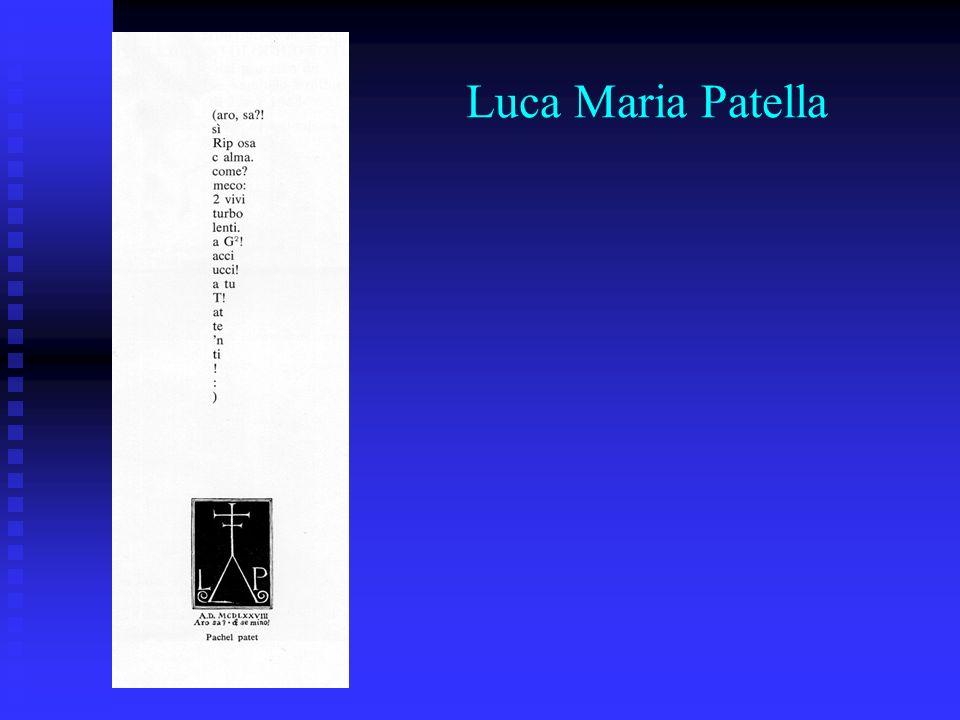 Luca Maria Patella