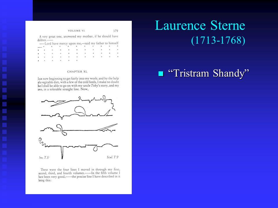 Laurence Sterne (1713-1768) Tristram Shandy Tristram Shandy