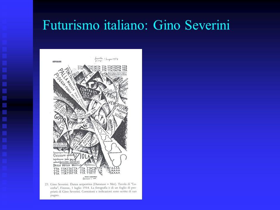 Futurismo italiano: Gino Severini