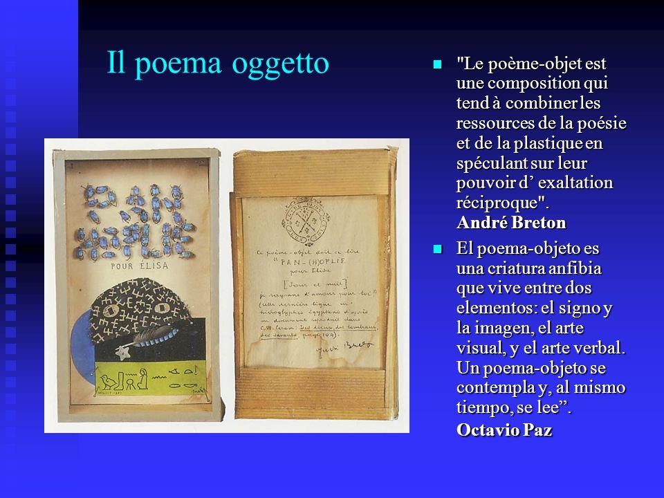 Il poema oggetto