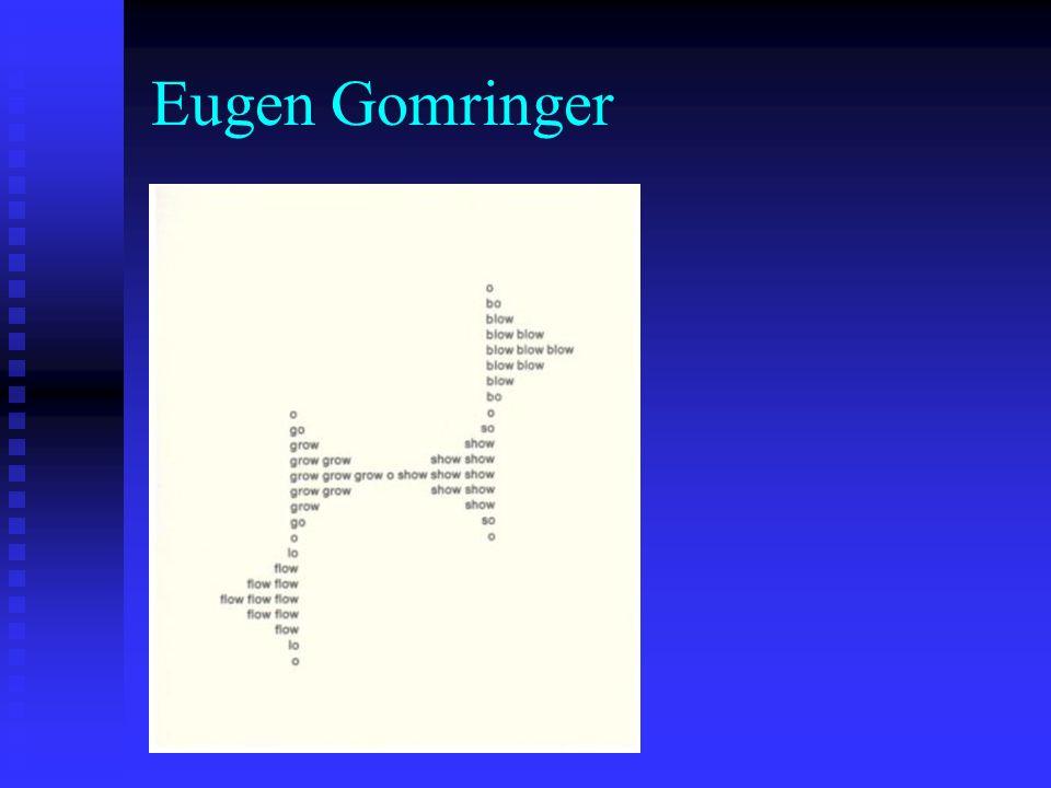 Eugen Gomringer