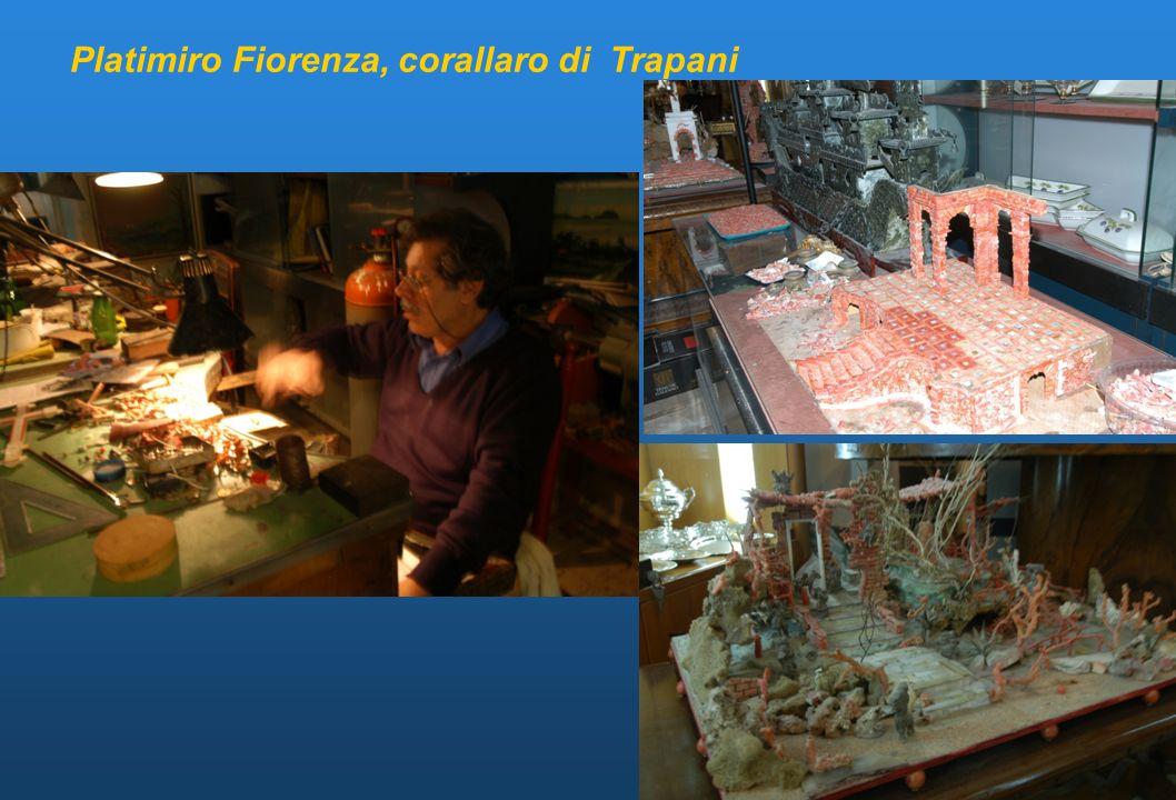 Platimiro Fiorenza, corallaro di Trapani