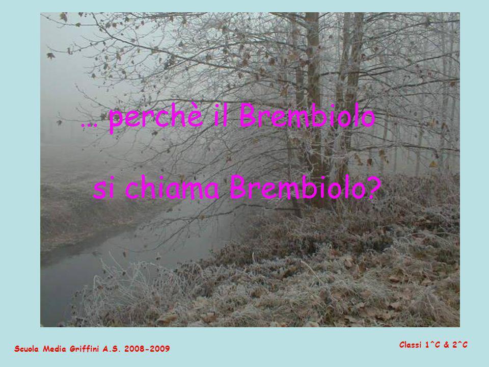Scuola Media Griffini A.S. 2008-2009 Classi 1^C & 2^C … perchè il Brembiolo si chiama Brembiolo?