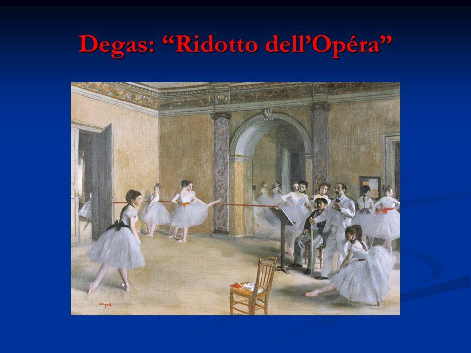 Degas: Ridotto dellOpéra