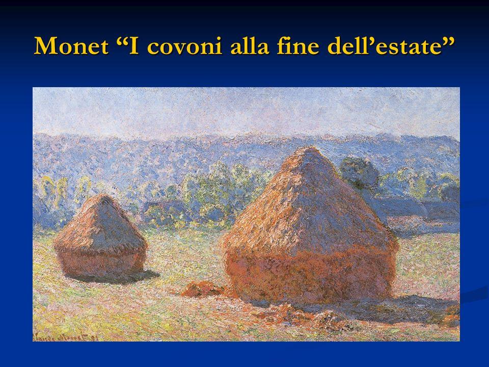 Monet I covoni alla fine dellestate