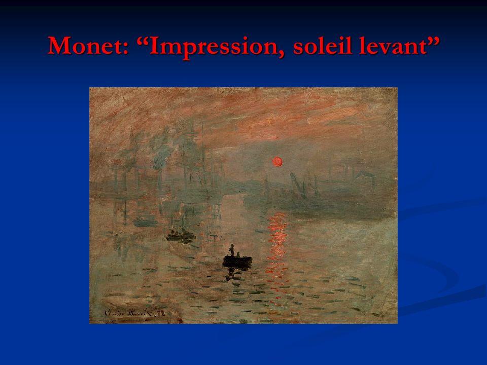 Monet: Impression, soleil levant