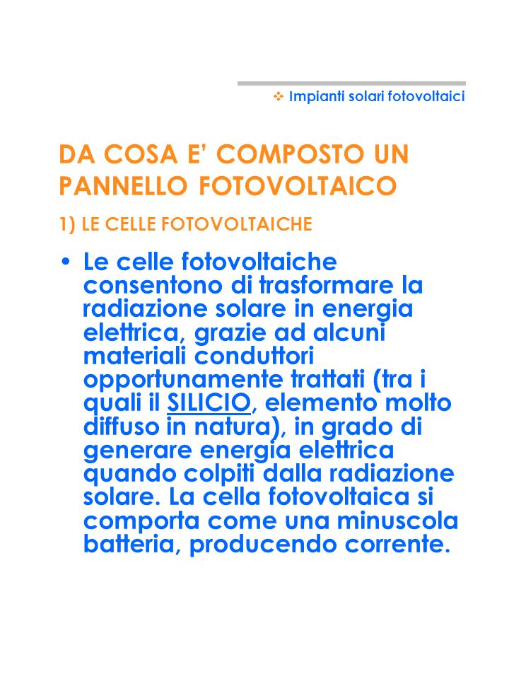 20 IMPIANTI SOLARI FOTOVOLTAICI Impianti solari fotovoltaici SYSTEM TOLLINGER ITALIA s.r.l.