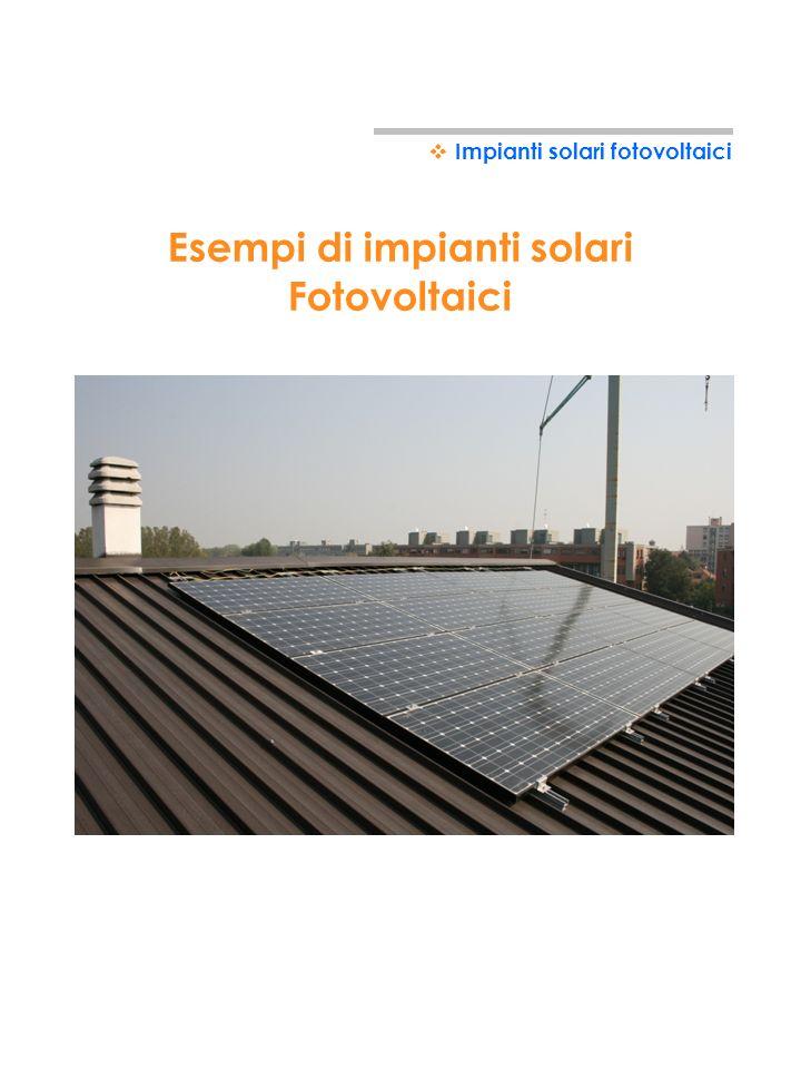 27 Impianti solari fotovoltaici DIMENSIONAMENTO IMPIANTO Come stabilire quanto deve essere potente limpianto fotovoltaico? - Superficie media lorda di