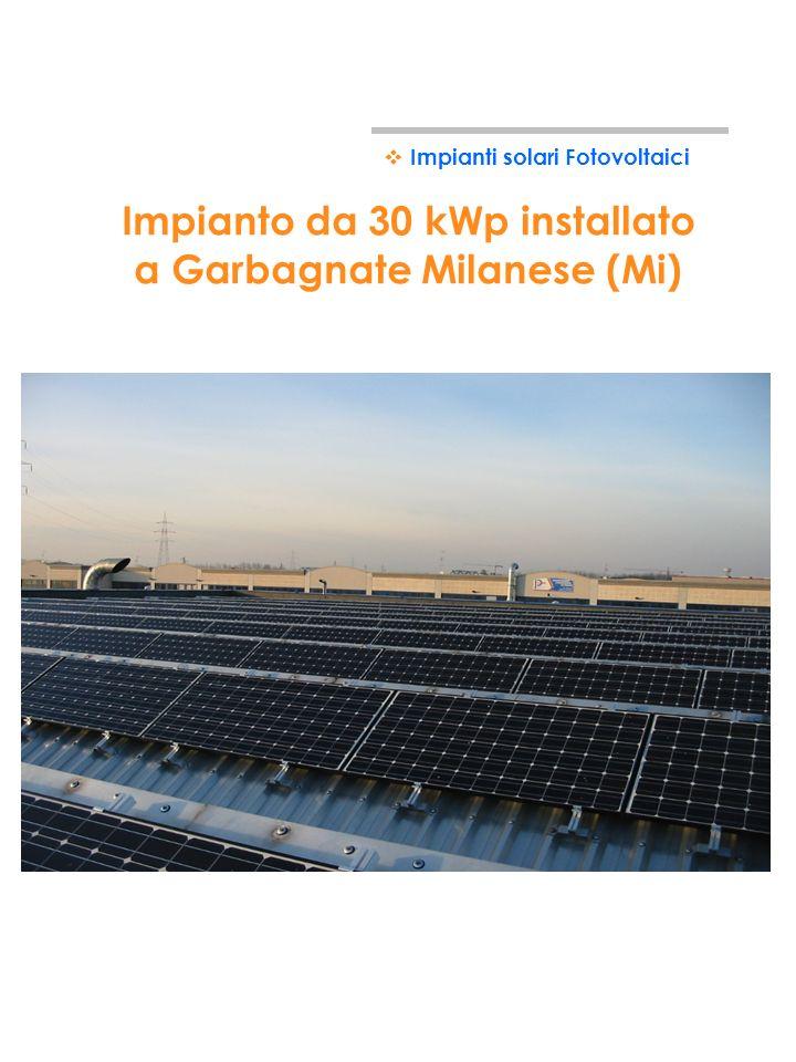 Esempi di impianti solari fotovoltaici industriali