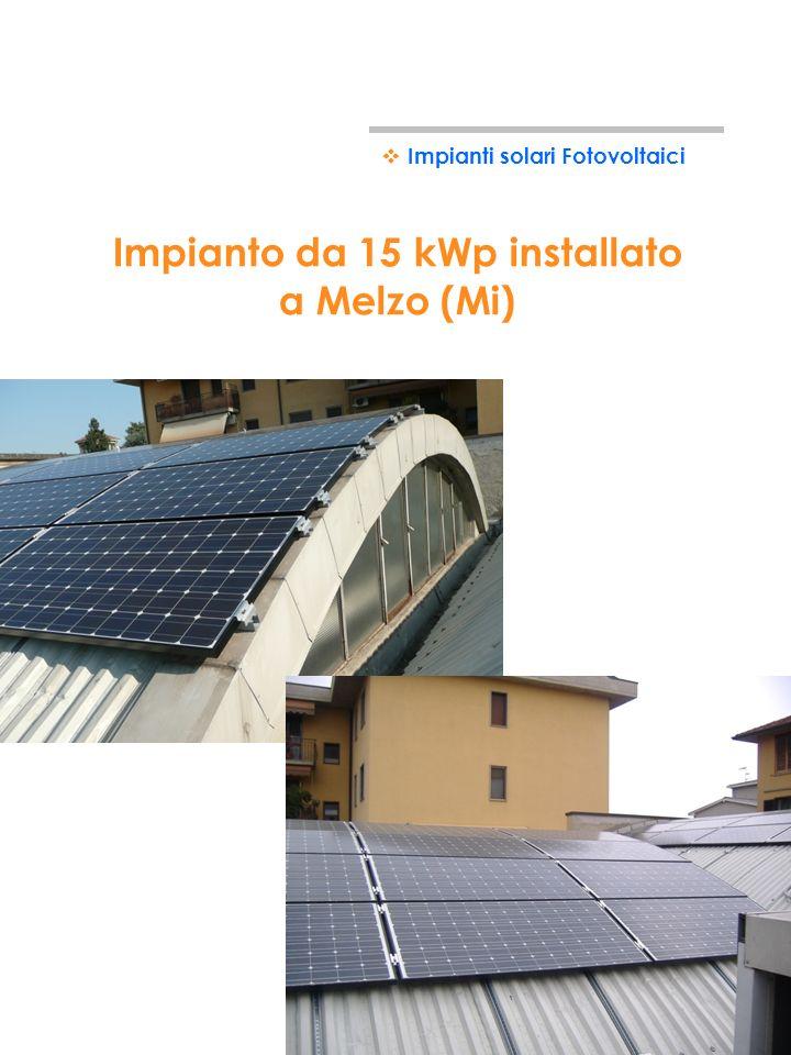 Impianto da 20 kWp installato a Gorle (Bg) Impianti solari Fotovoltaici
