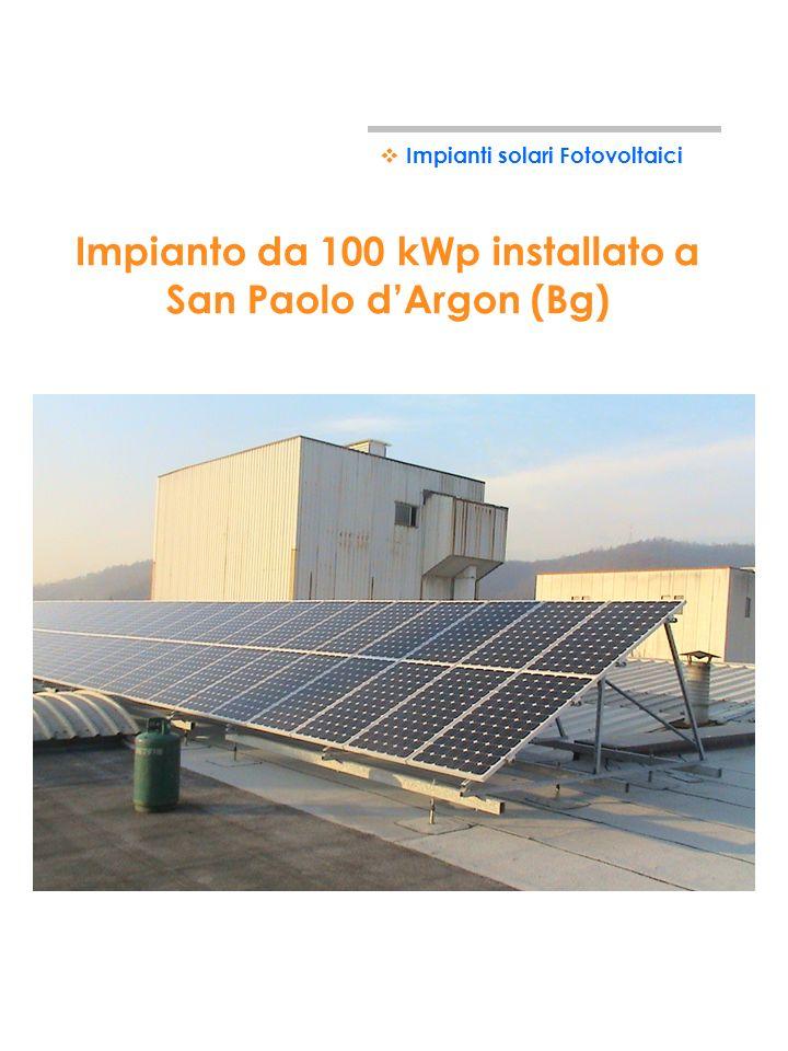 Impianto da 60 kWp installato a Gorgonzola (Mi) Impianti solari Fotovoltaici