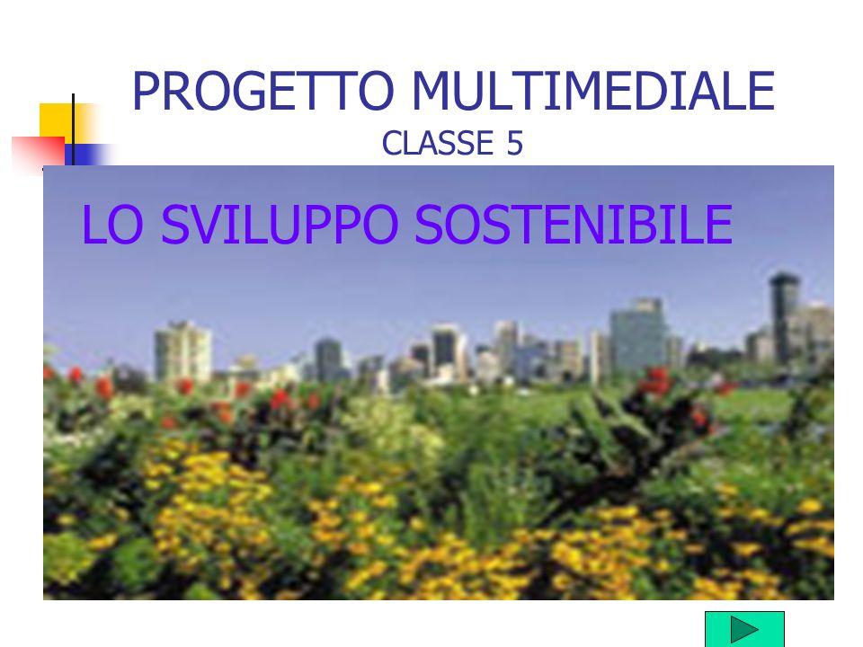 PROGETTO MULTIMEDIALE CLASSE 5 LO SVILUPPO SOSTENIBILE