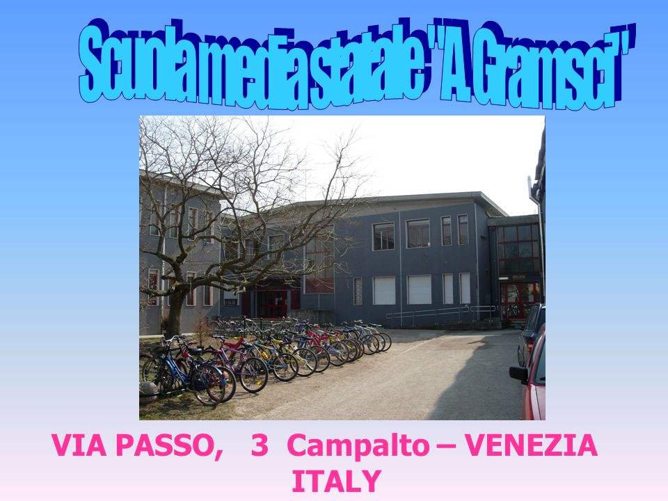 VIA PASSO, 3 Campalto – VENEZIA ITALY
