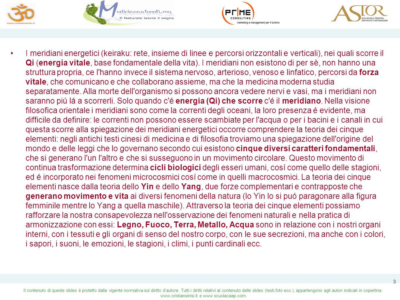 Il contenuto di queste slides è protetto dalla vigente normativa sul diritto dautore.