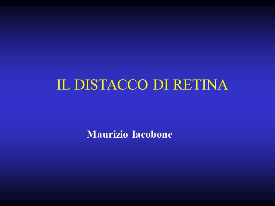 IL DISTACCO DI RETINA Maurizio Iacobone