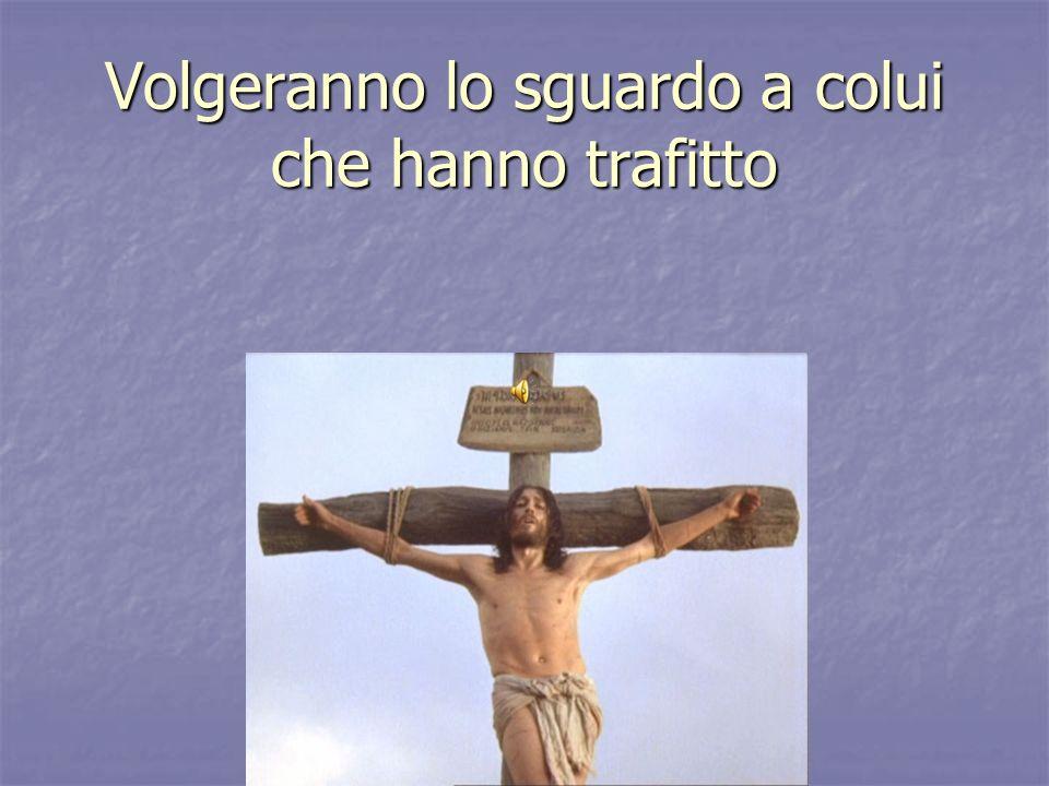 Lacqua che sgorgò dal costato di Cristo, insieme col suo sangue, è il simbolo dello Spirito santo.