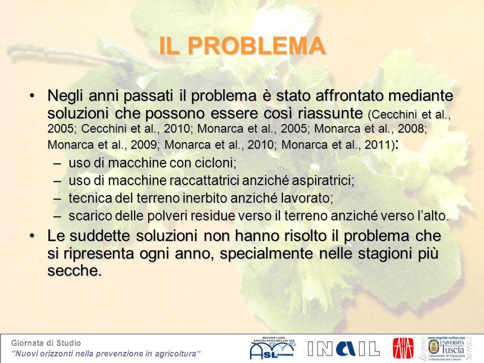 Giornata di Studio Nuovi orizzonti nella prevenzione in agricoltura IL PROBLEMA Negli anni passati il problema è stato affrontato mediante soluzioni c