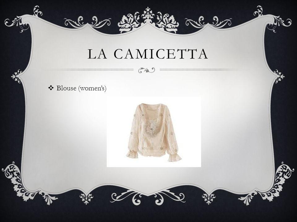 LA CAMICETTA Blouse (womens)