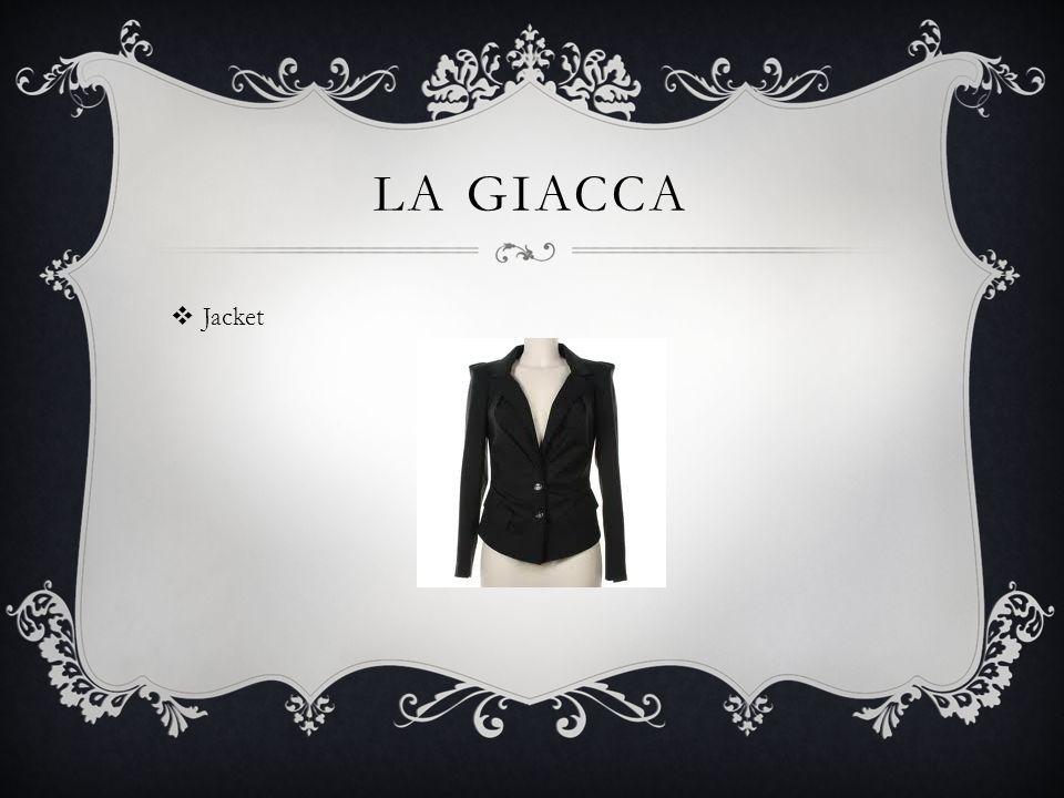 LA GIACCA Jacket