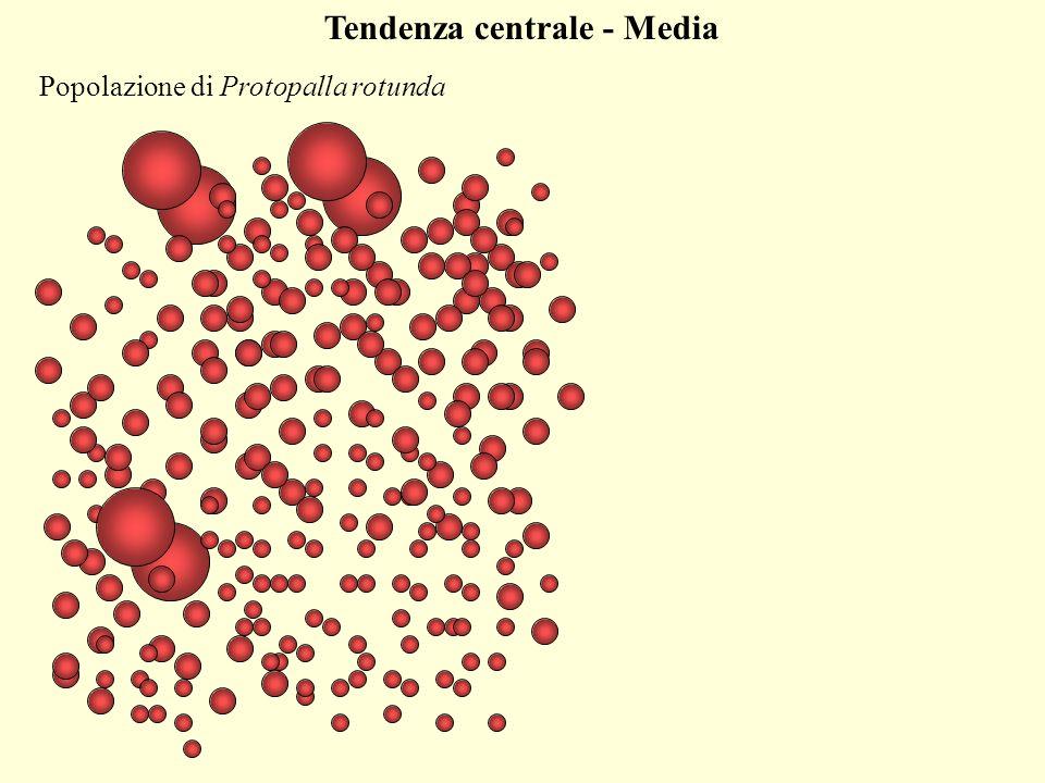 Misure di dispersione - Scarto medio Si prende la differenza fra ogni valore e la media: X i - X X i - X = 0 La somma di questi scarti è nulla, e quindi non serve…