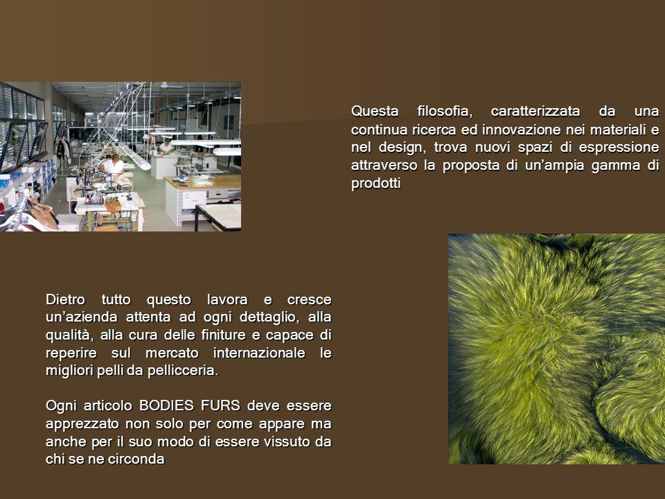 Contacts: Bodies Furs International Spa Via Orme 209 50025 Montespertoli- FI Ph.