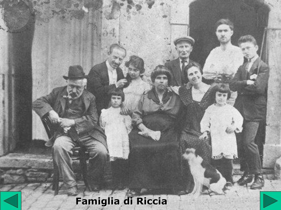 Famiglia di Riccia
