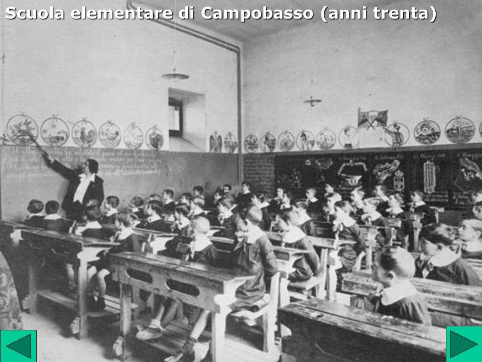 Scuola elementare di Campobasso (anni trenta)