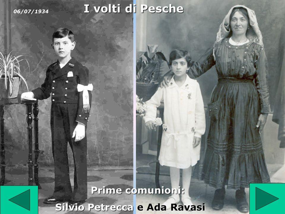 Prime comunioni: Silvio Petrecca e Ada Ravasi