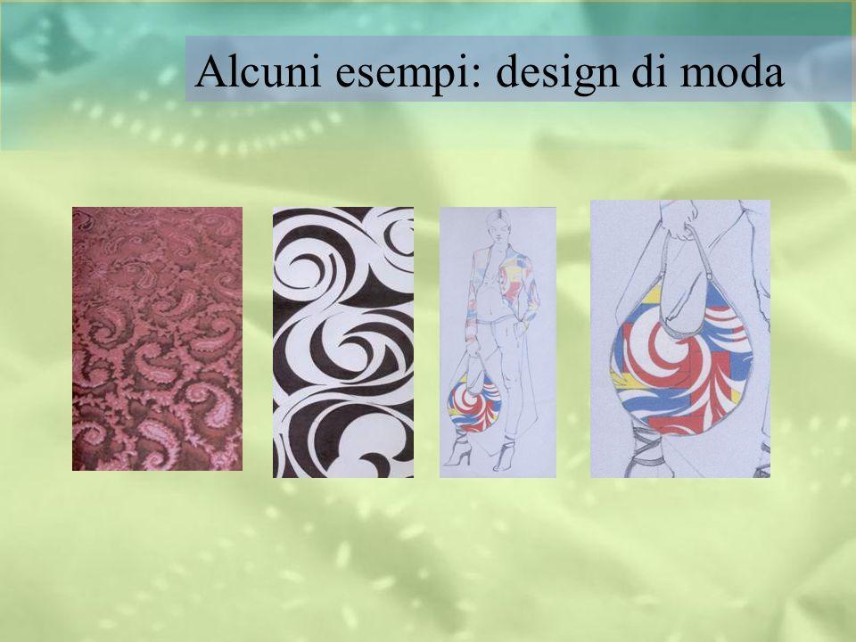 Alcuni esempi: design di moda