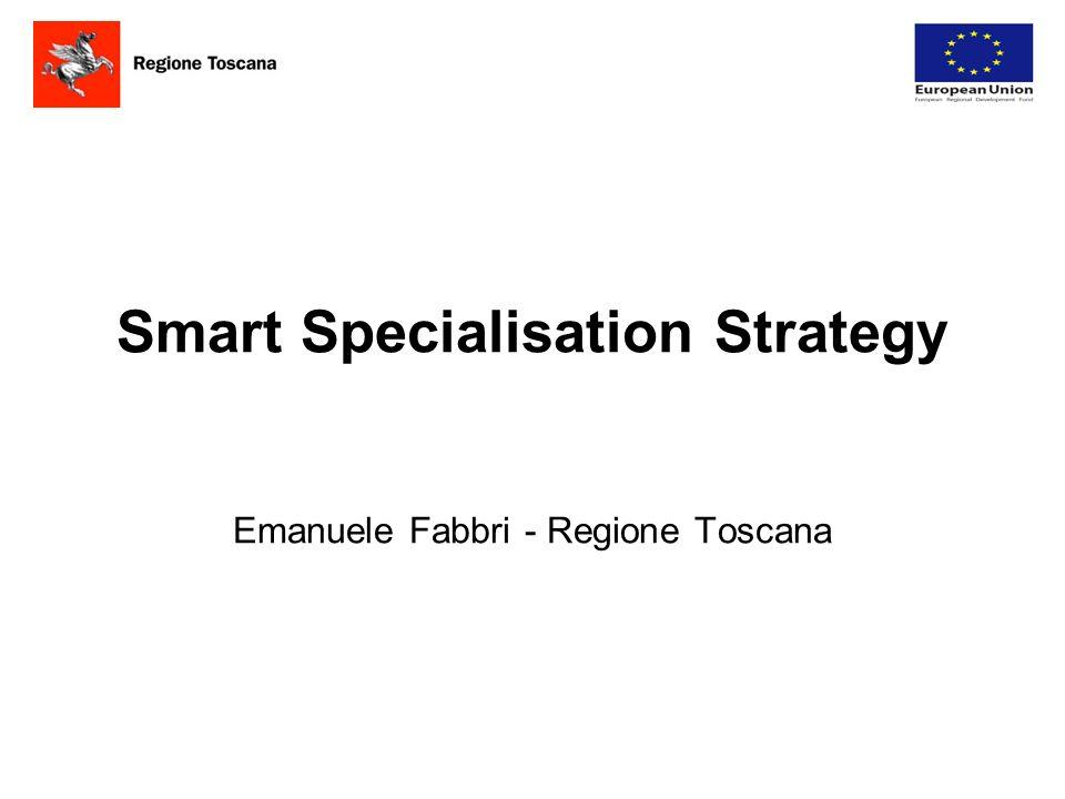 Origini Il concetto di smart specialisation viene elaborato da Dominique Foray e Bart Van Ark in studi relativi ai gap di produttività tra Stati uniti e Europa.