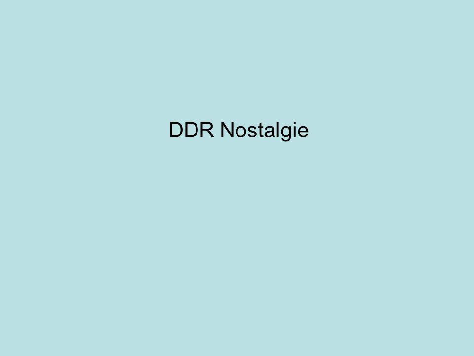 DDR Nostalgie