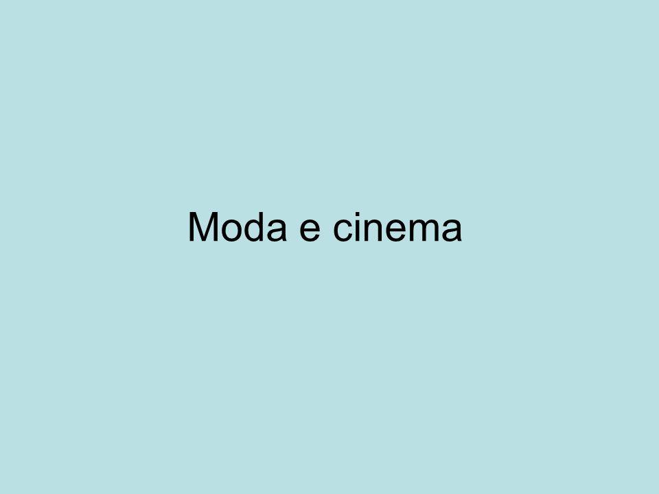 Moda e cinema