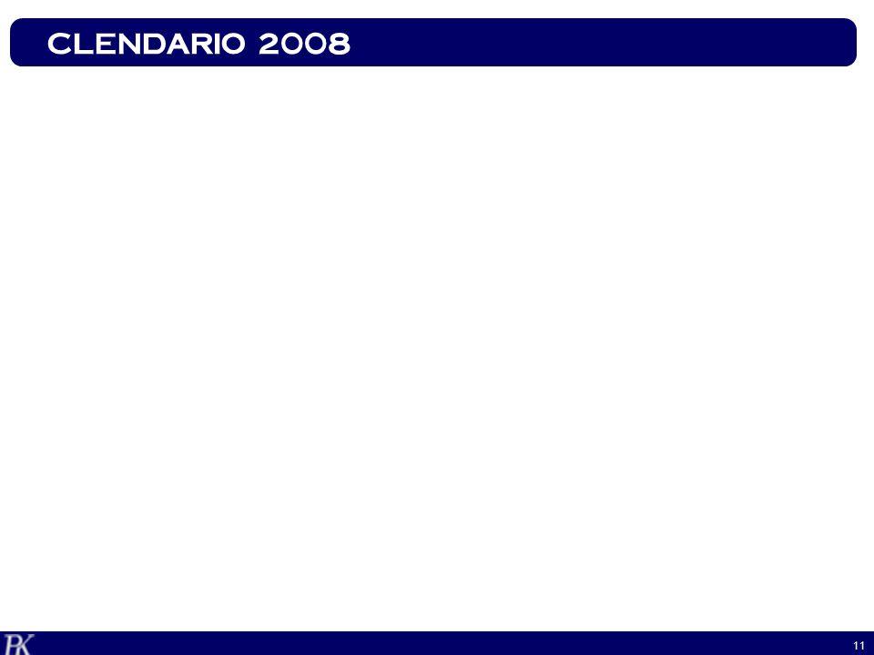 11 CLENDARIO 2008