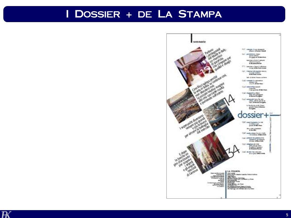 16 Canale Dossier Text Box Ticker LaStampa.it speciali: VISIBILITA A SUPPORTO
