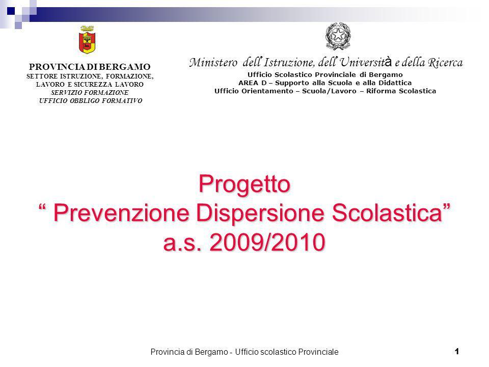 Provincia di Bergamo - Ufficio scolastico Provinciale 92 Servizi per lagricoltura e lo sviluppo rurale