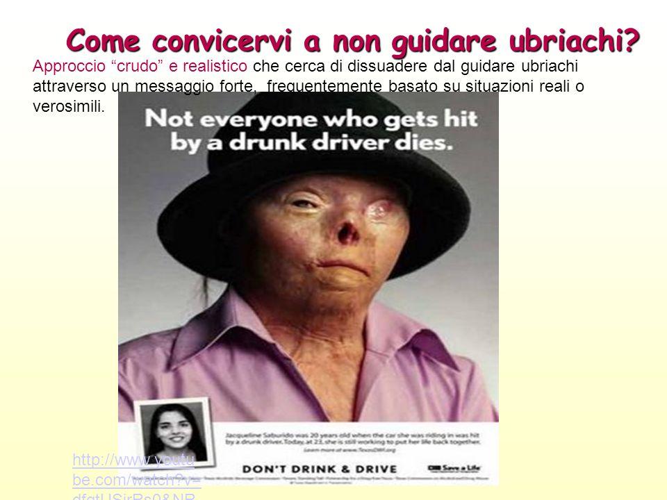 Come convicervi a non guidare ubriachi.