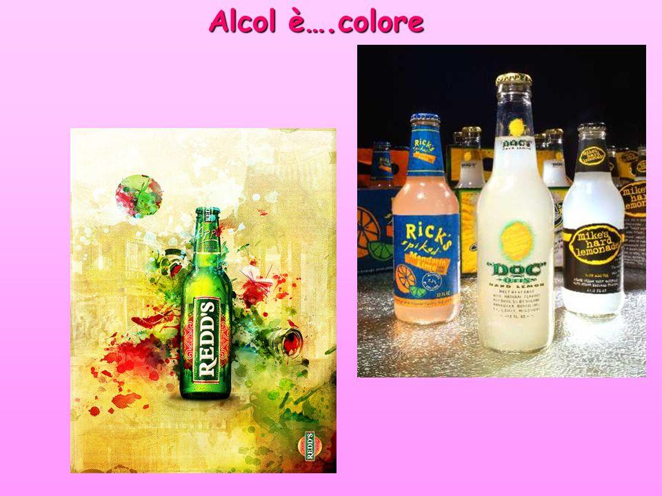 Alcol è….colore