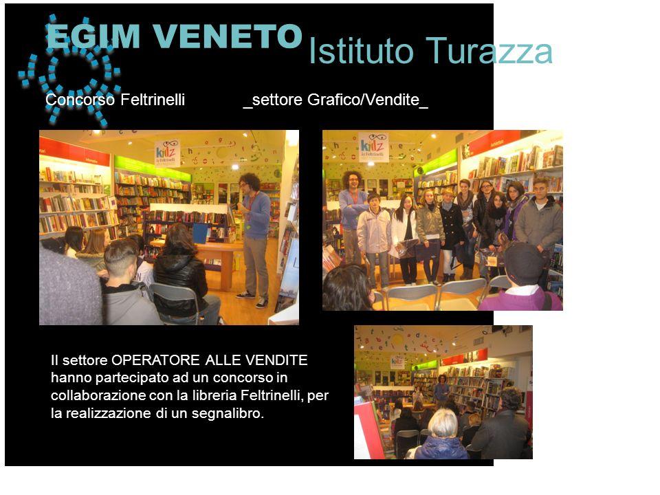 Il settore OPERATORE ALLE VENDITE hanno partecipato ad un concorso in collaborazione con la libreria Feltrinelli, per la realizzazione di un segnalibr